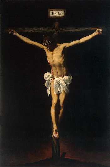 The Pisces archetype: The Crucifixion, by Alonso Cano, c. 1640.